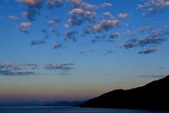 L'Alaska di stupore Fotografie Stock Libere da Diritti