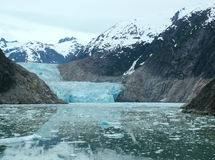 l'Alaska - glacier 3 de bras de Tracy Photographie stock