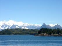 L'Alaska - paesaggio Fotografie Stock Libere da Diritti