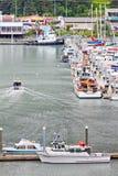 l'Alaska Seward pêchant le bateau de Chater renvoie 2 Photo libre de droits