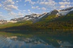 l'Alaska stupéfiant Images stock