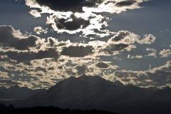 l'Alaska stupéfiant Image libre de droits