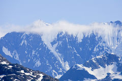 l'Alaska stupéfiant Photographie stock
