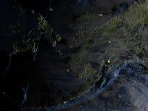 L'Alaska sur terre - fond océanique évident Photos libres de droits