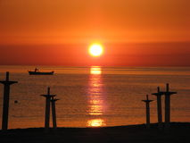 L\'alba - Sunrise Stock Photography