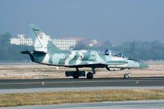41112 L-39 Albatros av kungligt thailändskt flygvapen Arkivfoto