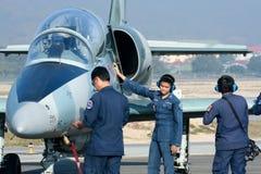 41112 L-39 Albatros da força aérea tailandesa real Fotografia de Stock
