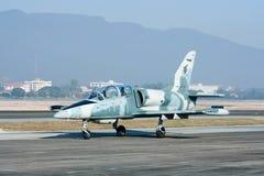 41112 L-39 Albatros dell'aeronautica tailandese reale Fotografia Stock