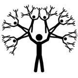 L'albero Fotografie Stock