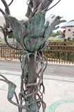 L'albero in bronzo Fotografia Stock Libera da Diritti