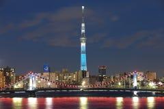 Albero del cielo di Tokyo Fotografia Stock Libera da Diritti