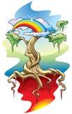 L'albero del mondo Fotografia Stock