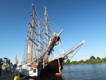 L'albero della nave di navigazione Siedow Fotografie Stock Libere da Diritti