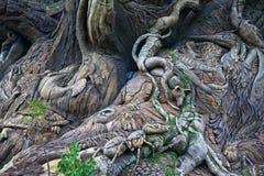 L'albero della vita al mondo di Disney Fotografie Stock Libere da Diritti
