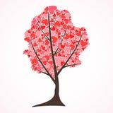 L'albero di amore Fotografia Stock