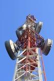 L'albero di telecomunicazione Fotografia Stock Libera da Diritti