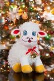 L'albero di Toy And New Year fotografia stock libera da diritti