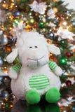 L'albero di Toy And New Year fotografia stock