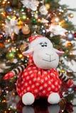L'albero di Toy And New Year fotografie stock libere da diritti
