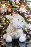 L'albero di Toy And New Year fotografie stock