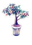 L'albero magico Illustrazione Vettoriale