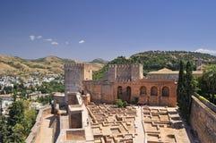 l'Alcazaba. Photo libre de droits