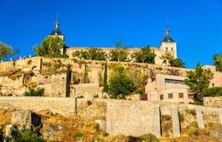L'alcazar di Toledo, sito di eredità dell'Unesco in Spagna Fotografie Stock