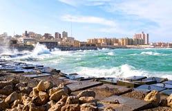 l'Alexandrie Photo stock