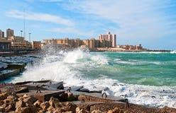 l'Alexandrie Photographie stock libre de droits
