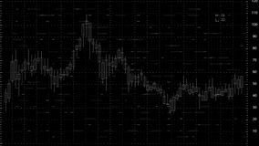 L'alfa mercato azionario del png esamina in controluce il grafico Tipo 6 illustrazione di stock