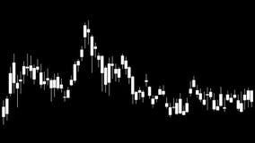 L'alfa mercato azionario del png esamina in controluce l'istogramma Type4 illustrazione vettoriale