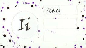 L'alfabeto inglese royalty illustrazione gratis