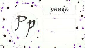 L'alfabeto inglese illustrazione vettoriale