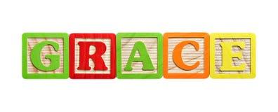 L'alfabeto ostruisce la tolleranza Immagine Stock