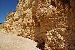 L'Algarve un bello viaggio stradale nel Portogallo Fotografia Stock Libera da Diritti