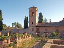 l'Alhambra-Espagne Photos stock