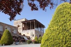 L'Ali Qapu Palace, Iran Photos libres de droits
