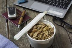 L'alimento di Chineese per porta via Immagini Stock Libere da Diritti
