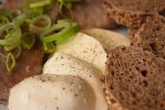 L'alimento ha cucinato la vostra propria ricetta Fotografie Stock