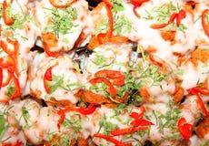 L'alimento natale caldo e piccante tailandese ha chiamato il mok di Hor Immagini Stock