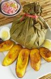 L'alimento peruviano ha chiamato Juane Immagini Stock