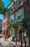 L'allée d'Elfreth, Philadelphie Photo stock