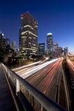 L.A. alla notte fotografia stock