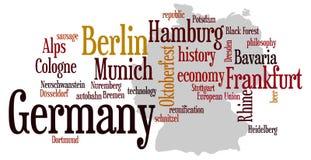 l'Allemagne illustration de vecteur