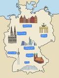 l'Allemagne Image stock