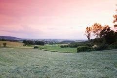 L'Allemagne, Bavière, paysage de Mittelehrenbach images stock
