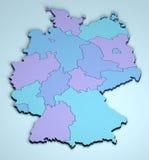 L'Allemagne 3D Images stock