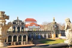 L'Allemagne de l'Est : Dresdens Late-Barock Château Image stock