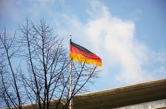 l'allemagne Drapeau allemand à Berlin 16 février 2018 photos stock
