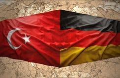 L'Allemagne et la Turquie Photos libres de droits